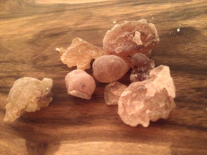 How Frankincense essential oil helped me at a funeral